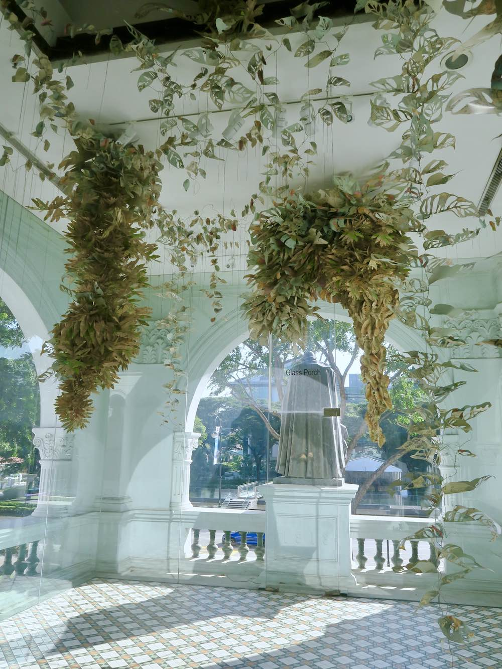 Cartography plants at singapore Biennale 2016 |curlytraveller.com
