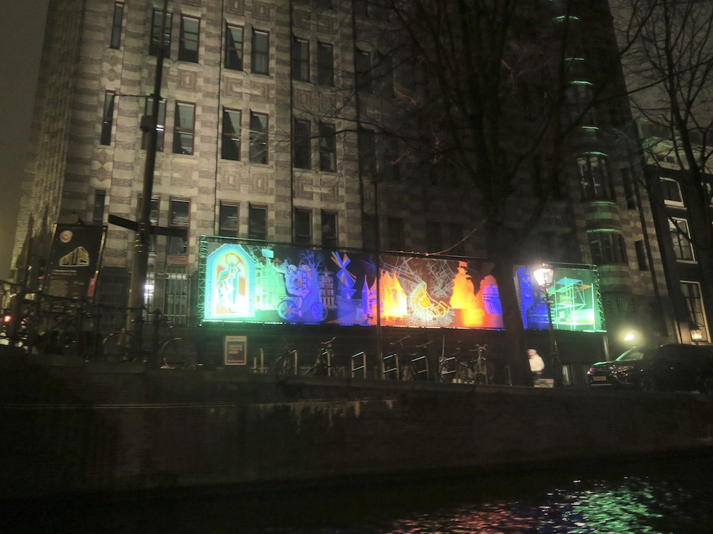 A window in time at Amsterdam Light Festival 2016 |curlytraveller.com