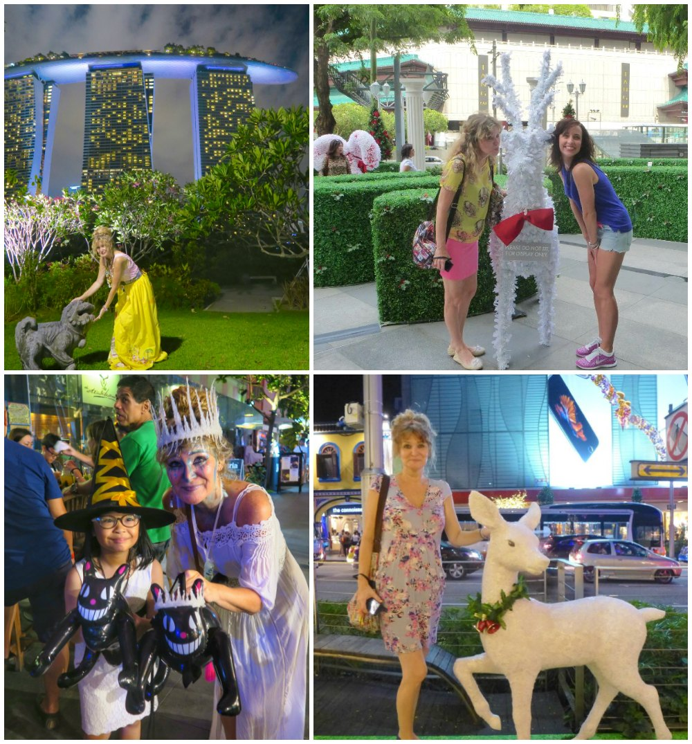 People posing with fake animals |curlytraveller.com
