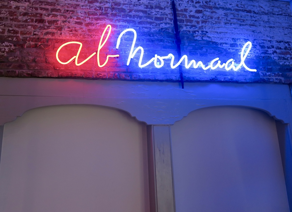 Neon art AbNormal |curlytraveller.com