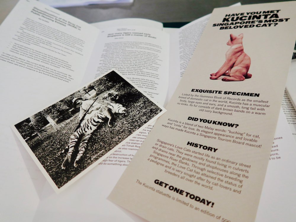 Intriguing material inside Companion Book by the Bizarre Honour Singapore |curlytraveller.com
