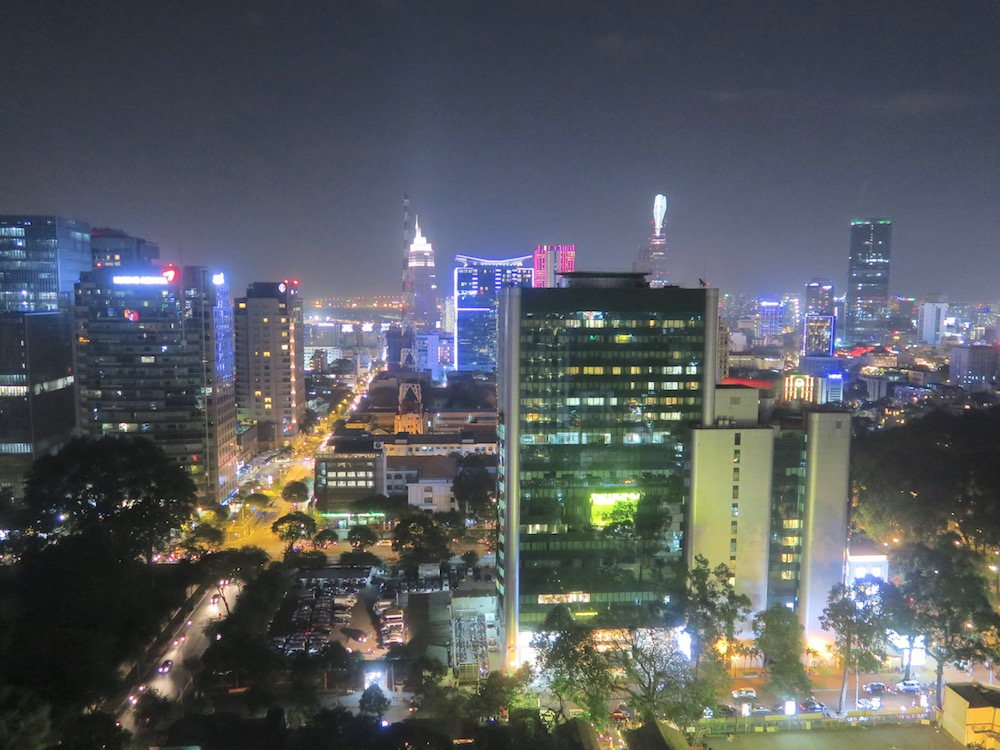 View from Shri Bar Saigon |curlytraveller.com