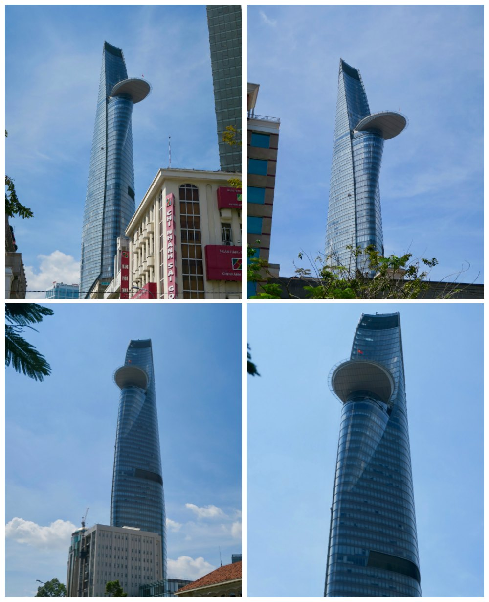 Frontal views of Bitexco Tower Ho Chi Minh City |curlytraveller.com