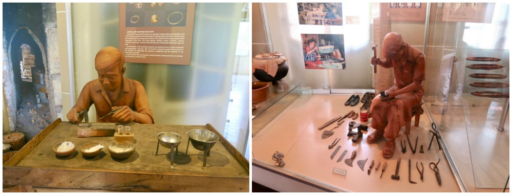 Professions displayed at Ho Chi Minh City Museum |curlytraveller.com
