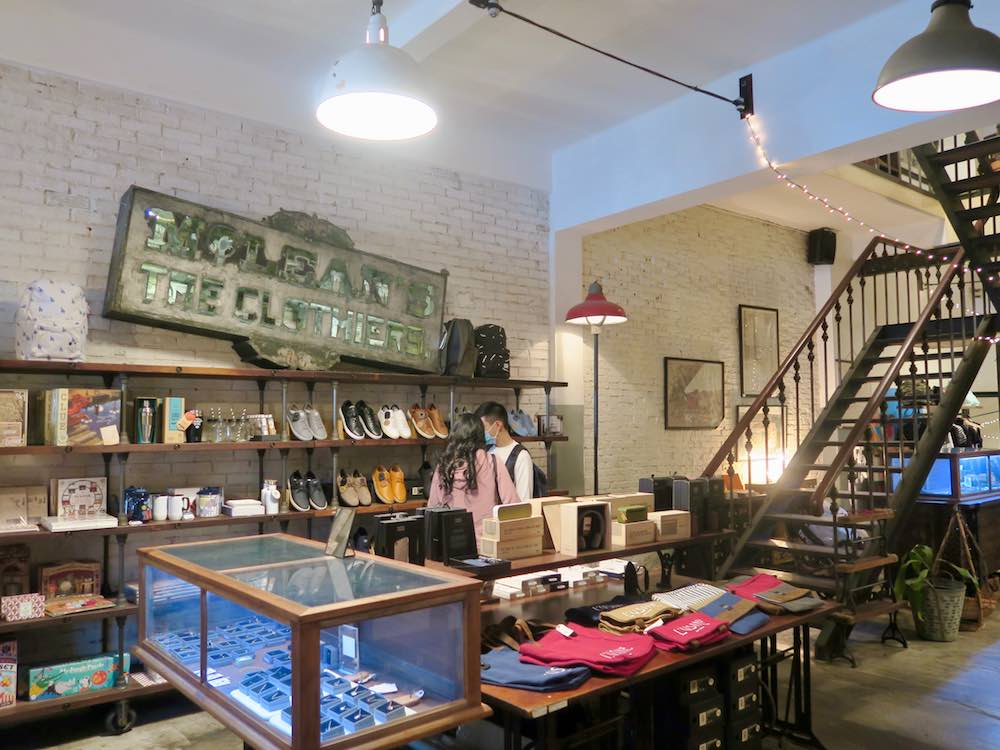 Inside the store of L'Usine le Loi Saigon |curlytraveller.com