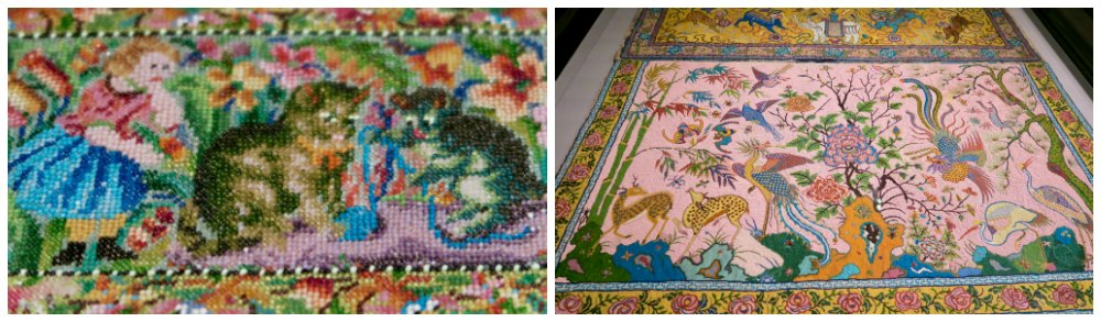 Beaded kittens at Peranakan Museum Singapore |curlytraveller.com