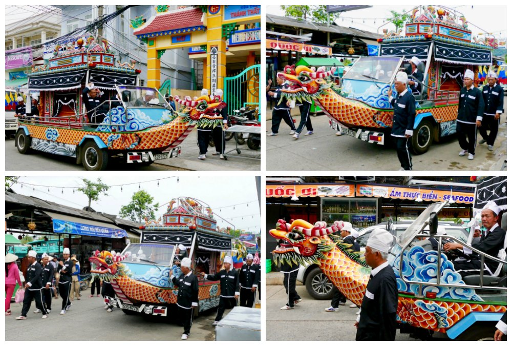 Funeral in Duong Dong town |curlytraveller.com