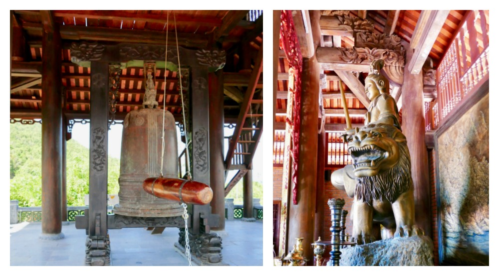 Buddhist drum in Ho Quoc Pagoda |curlytraveller.com