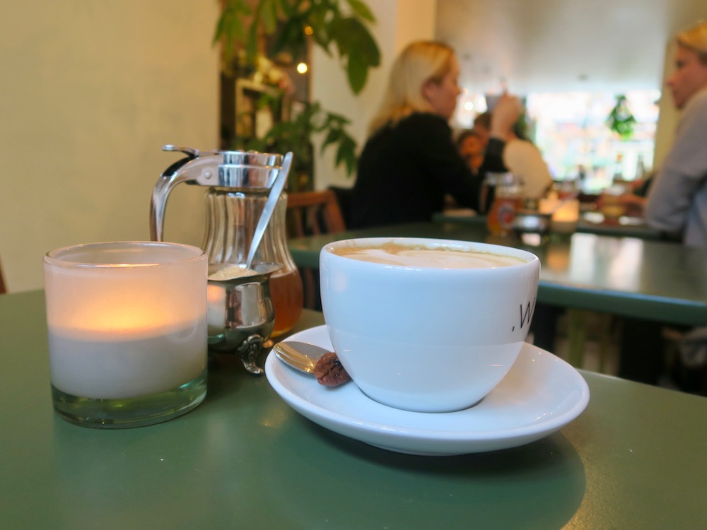 Cappuccino at Native, Haarlem |curlytraveller.com