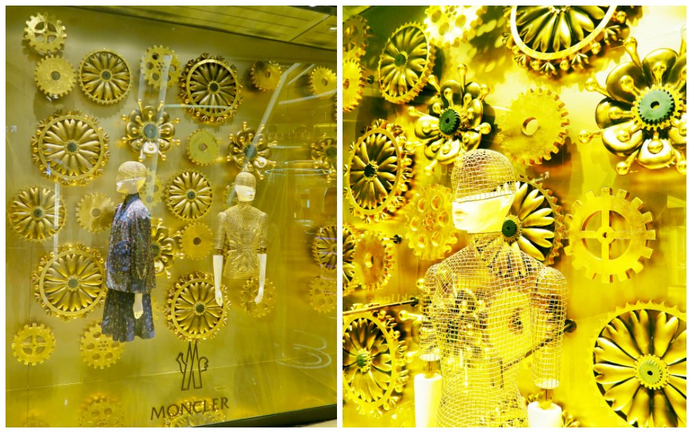 Moncler window display in ION Orchard Singapore |curlytraveller.com