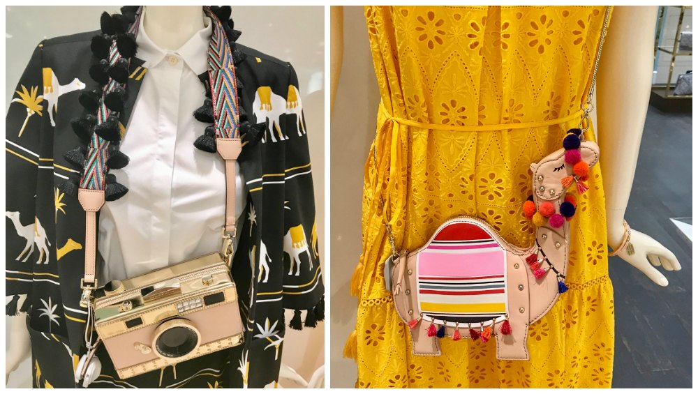 Camera bags and camels in Kate Spade's collection |curlytraveller.com