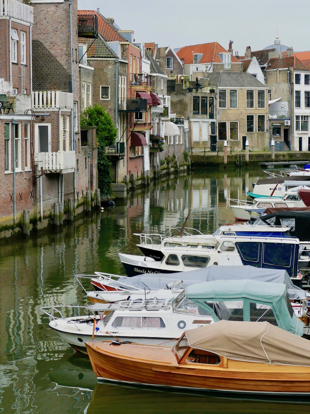 Canals and canal houses in Dordrecht |curlytraveller.com