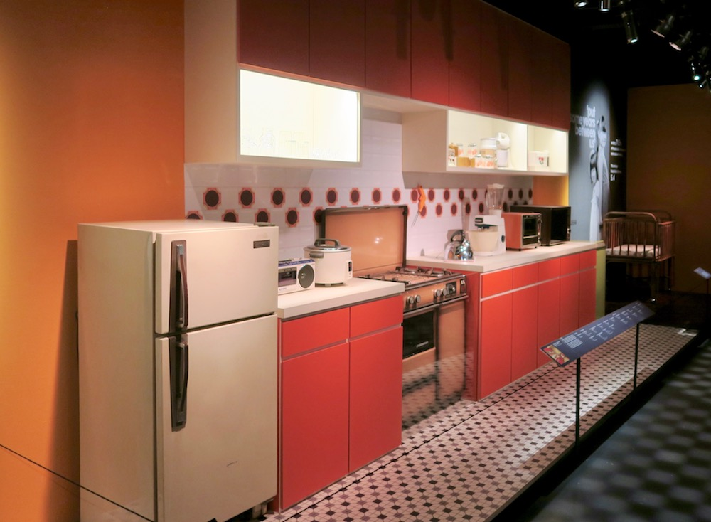HDB kitchen in the 70s |curlytraveller.com