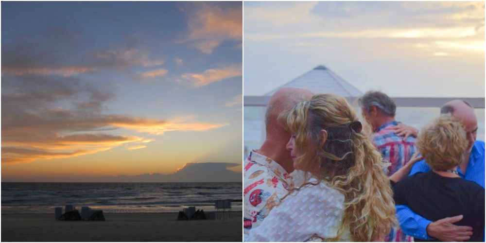 Sunset and tango at sea in Bloemendaal |curlytraveller.com