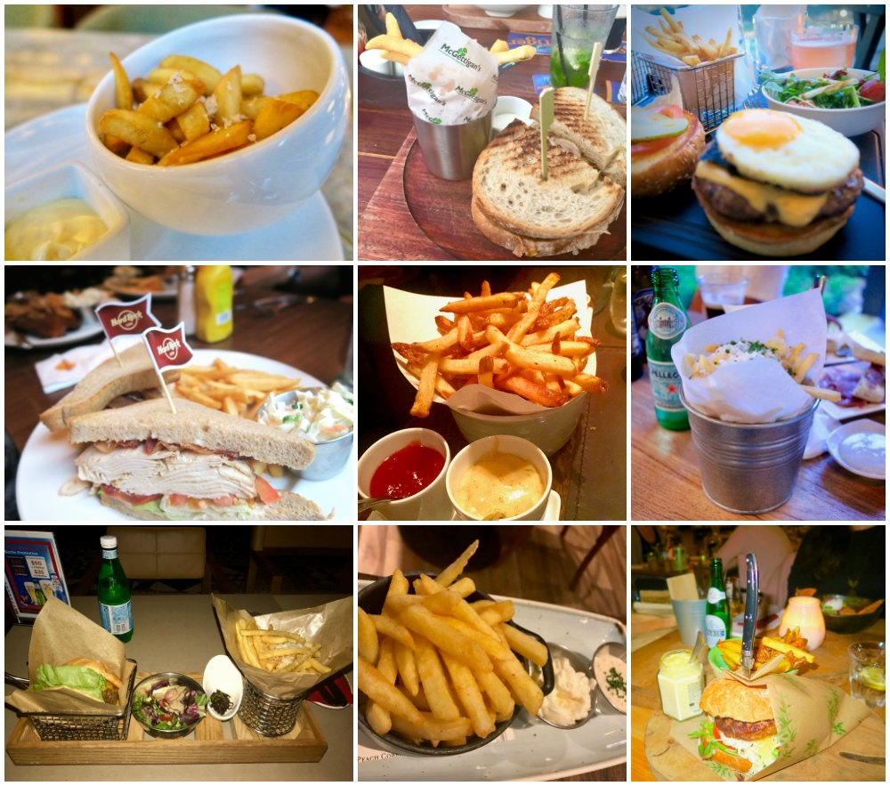 Meals with fries |curlytraveller.com