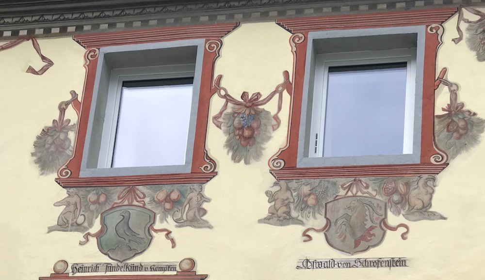 Genealogy painting in St. Anton |curlytraveller.com