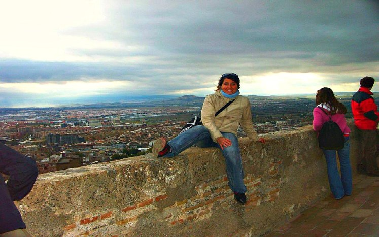Alhambra, and views of the city that is my favourite place in Granada and symbol of the city