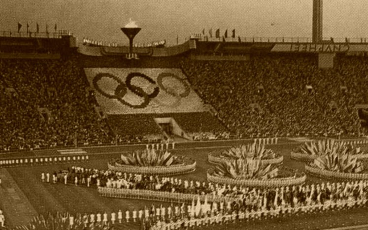 35. Moscow 1980 Olympic Games opening ceremony , Olympics