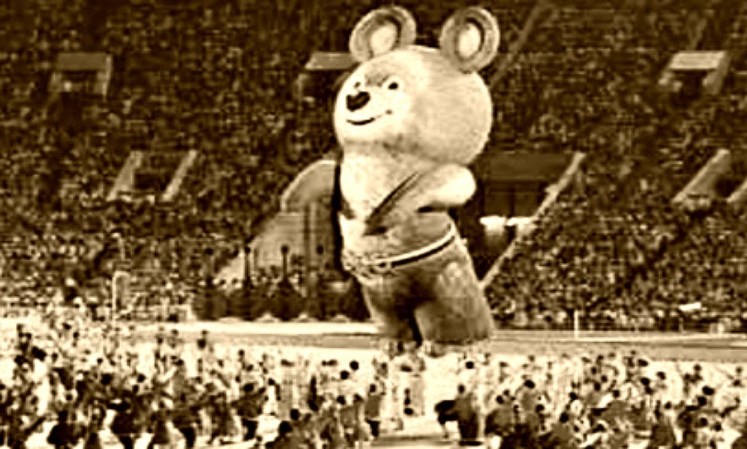 35. bear Misha at the Olympics in Moscow , Olympics