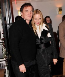 Quentin Tarantino and Uma Thurman - muse