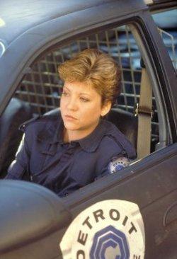 Nancy Allen as Robocop's long suffering partner, Anne Lewis