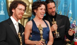 The Coen brothers and Frances McDormand - muse