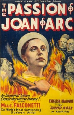 action movie The passion of Joan of Arc