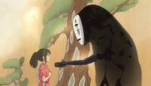 Spirited Away animated