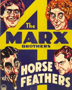 Horse Feathers Marx Bros