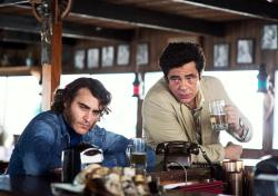 Joaquin Phoenix and Benicio Del Toro in 'Inherent Vice'