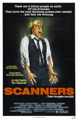 Scanners David Cronenberg