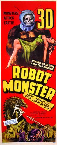 Robot monster bad movie