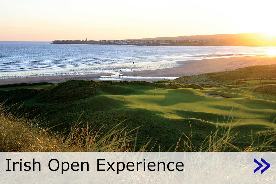 Hyperlink to Irish Open Experience web page