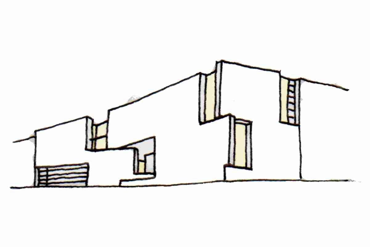 Alzado arquitectura fachada penalba stamm pousa curr s - Alzado arquitectura ...