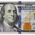 United states one hundred dollar bill counterfeit money detection