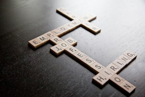 scrabble game with career terms