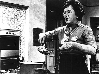 The American Archive collection includes groundbreaking programs featuring public TV stars such as Julia Child.