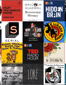 Making the itunes top podcasts page is every podcaster   goal chart  continually updated list of most popular casts based on downloads also vs broadcasts an battle current rh