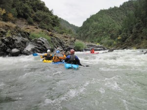 Kayaking Adventure on Oregon's Rogue River with Current Adventures Kayak School and Trips