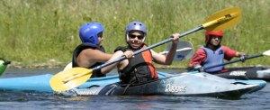 kid's kayak camp, current adventures