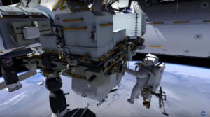 NASA astronauts all set for emergency spacewalk outside International Space Station today