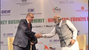 Erdogan by his side, Modi invites Turkish investment in railways, airports, and textile