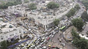 Connaught place is ninth most expensive office marcket in world; Mumbai lags