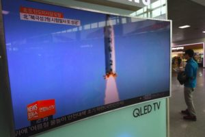 North Korea says missile launch a new type of 'cruise rocket'