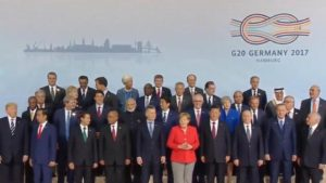12th G20 Summit held in Hamburg, Germany