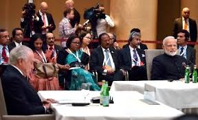 Informal BRICS Leaders meeting held in Hamburg, Germany