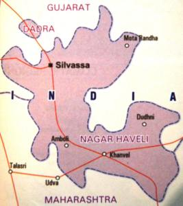 11th August 1961: The Former Portuguese Territories of Dadra and Nagar Haveli were merged to Create the Union Territory of Dadra and Nagar Haveli