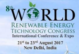 8th World Renewable Energy Technology Congress in Delhi