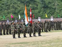 Joint India-Nepal army exercise begins in Saljhandi, Nepal