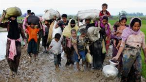 Rohingya exodus continues after 73,000 flee Myanmar